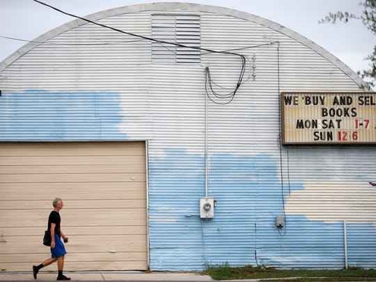 The quonset hut building shell houses the International Book Mine on Gaines Street Friday, Sept. 11, 2015.