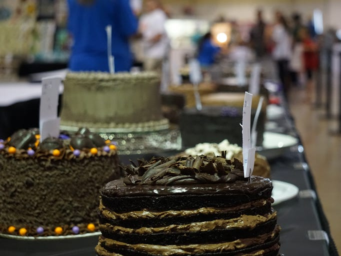 Forty-four cakes are entered in the 58th annual Gerry