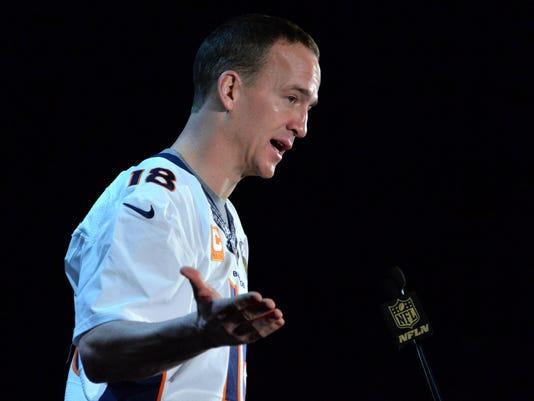 NFL: Super Bowl 50-Denver Broncos Press Conference