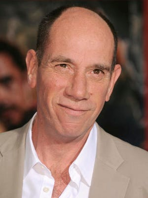 "FILE - This April 24, 2013 file photo shows actor Miguel Ferrer at the world premiere of ""Marvel's Iron Man 3"" in Los Angeles. Ferrer, who brought stern authority to his featured role on CBS' hit drama ""NCIS: Los Angeles"" and, before that, to ""Crossing Jordan,"" died Thursday, Jan. 19, 2017, of cancer at his Los Angeles home. He was 61."