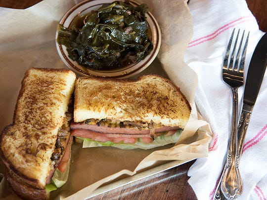 The Smoked Bologna Sandwich at The Sutler features