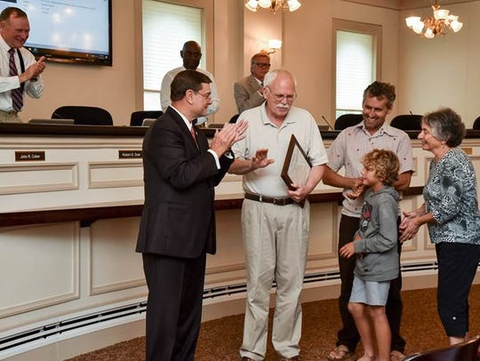 Northampton County Board of Supervisors recently honored