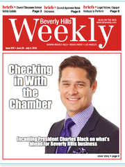 Former Shreveporter Charles L. Black III was a headliner/cover boy in the Beverly Hills Weekly when he was named chairman of the Beverly Hills (California) Chamber of Commerce for 2018-2019.