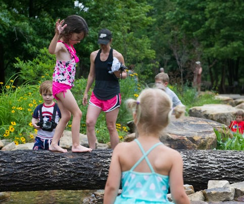 Kids POV: Exploring nature at Wesselman Woods PlayScape