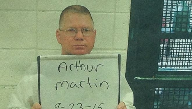 Arthur Martin has been arrested and charged with photographing and filming a subject without consent under the age of 16.