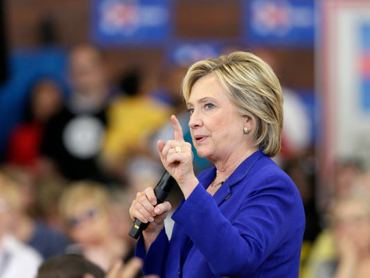 AP DEM 2016 CLINTON'S BIG MONTH A ELN FILE USA IA