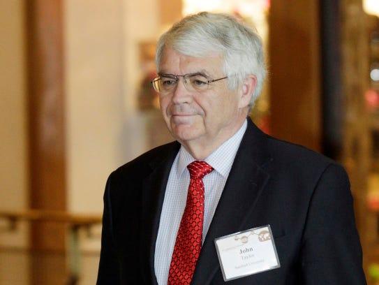 John Taylor, Stanford University economist, at the