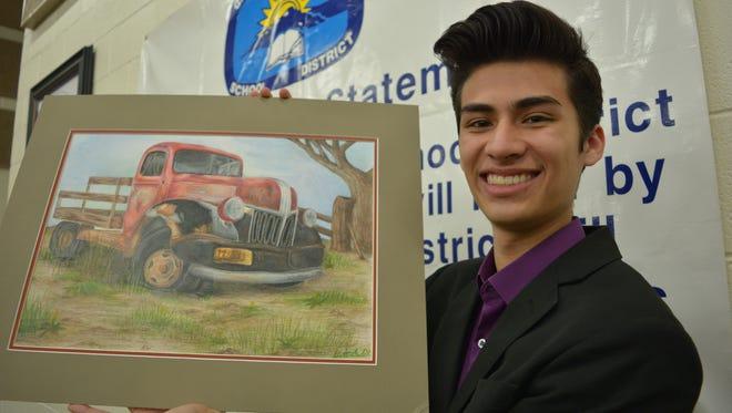 Matthew Madrid of Gadsden High School.