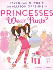 The cover of 'Princesses Wear Pants,' which Guthrie