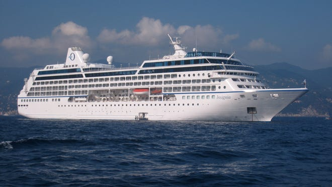 "No. 20: The original ""R"" ships. Upscale Oceania Cruises operates four of the former R ships (Insignia, ex R One, shown; Regatta, ex R Two; Nautica, ex R Five and Sirena, ex R Four)."