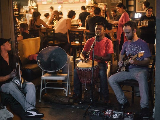 Les Amis are a band of individually accomplished individual