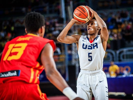 Immanuel Quickley Team USA