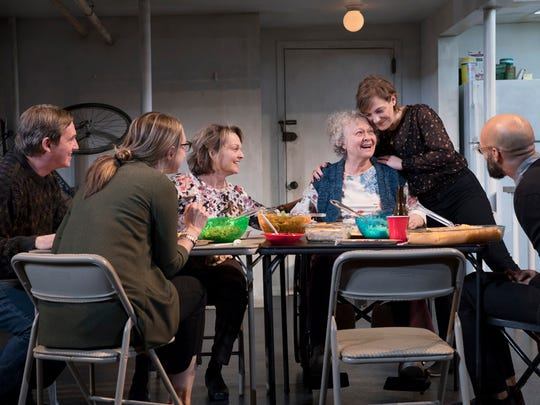 "A scene from ""The Humans"" at the Seattle Repertory Theatre in Seattle on Nov. 28, 2017."