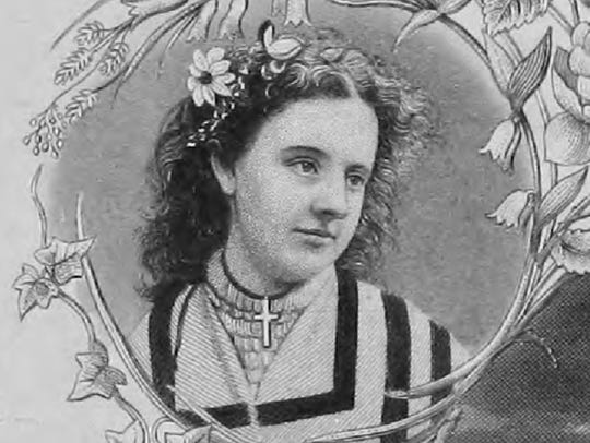 Hodgson turned 23 just before she appeared on the December