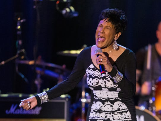 "Singer Bettye LaVette performs during the David Lynch Foundation Honors Ringo Starr ""A Lifetime of Peace & Love"" event held at the El Rey Theatre on Monday, Jan. 20, 2014, in Los Angeles."