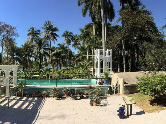 """What makes the Edison swimming pool so interesting is that it is 100 years old and still functioning beautifully,"" says Edison & Ford Winter Estates CEO/President Chris Pendleton."