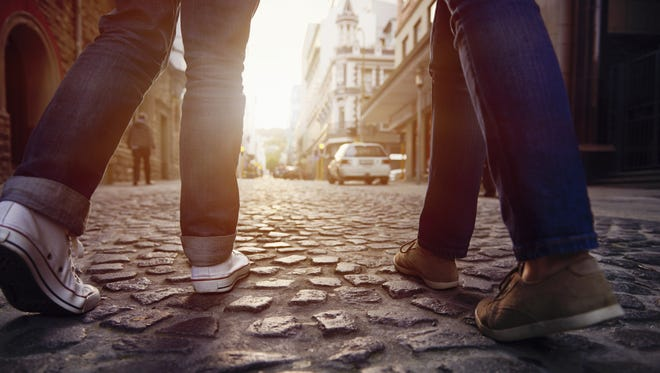 Walking is the best way to save money and take in a new destination.