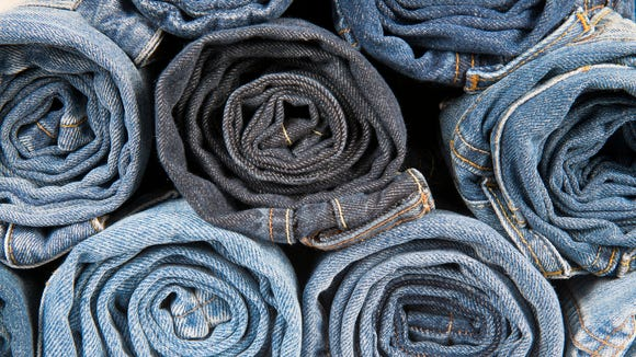 Jeans are heavy and take up a lot of space, even when