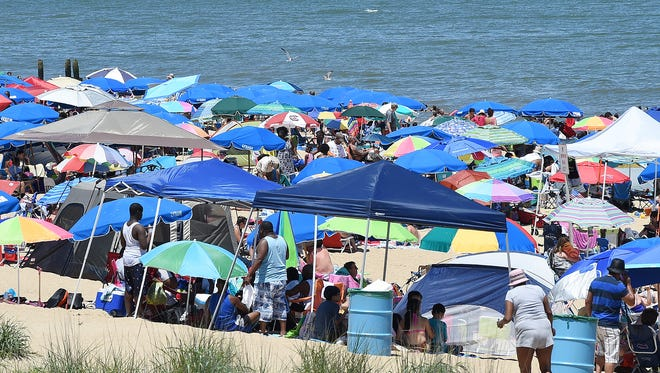 During a Jan. 9, 2017, city commissioners meeting, Rehoboth Beach officials discussed a policy for tents, umbrellas and canopies on the beach for the 2017 summer season.