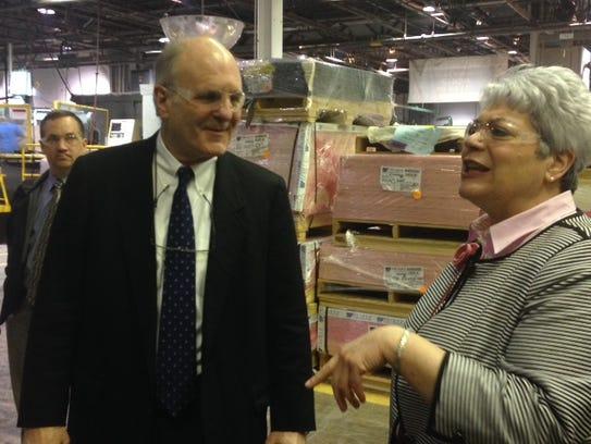Jim Schwarz, vice president of sales at McClarin Plastics