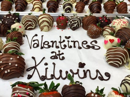 "Kilwins makes ""thousands"" chocolate dipped strawberries"
