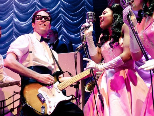 """Buddy: The Buddy Holly Story National Tour"" begins"