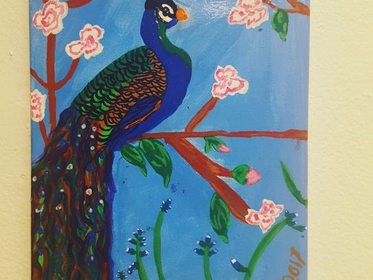 Ashly Staples is a featured artist at Creative Center