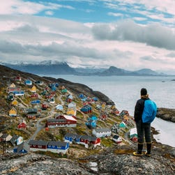 Adventure Canada's Labrador and Greenland cruise includes visits to small towns in Greenland.
