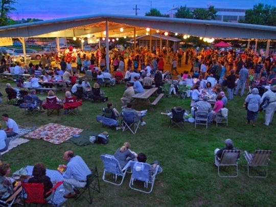Saturday's Centennial Park Big Band Dance features the Moonlighters.