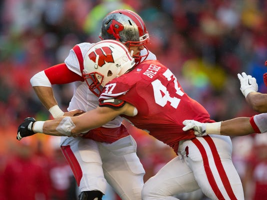 NCAA Football: Rutgers at Wisconsin