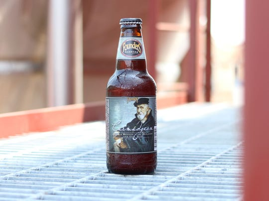 Curmudgeon Old Ale by Founders Brewing Company is one
