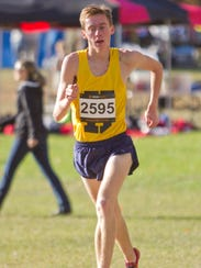 Hartland's Noah Kramer placed 11th overall and was