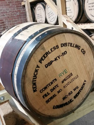 Peerless plans to release their first rye whiskey in time for Derby next year. They've allocated more of their production to rye due to its growing popularity, says the distillery's co-founder Corky Taylor.