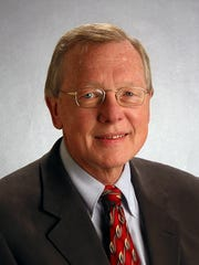 A memorial for former City Commissioner Steve Meisburg