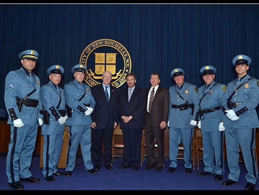 New Rochelle police promotions