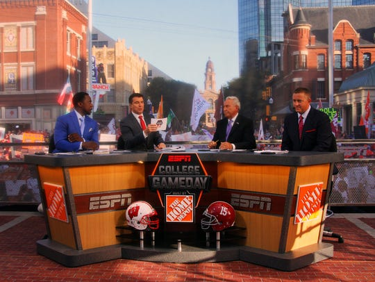 ESPN's College GameDay crew incorporated point spreads