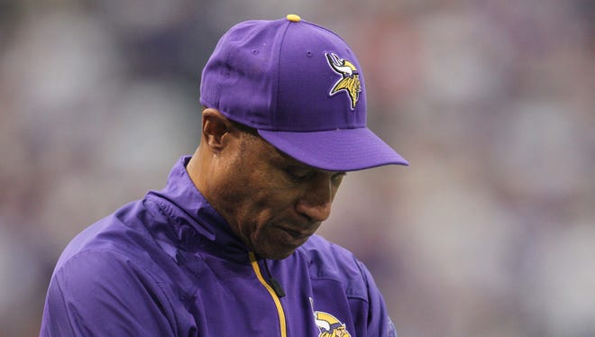 Minnesota Vikings head coach Leslie Frazier lasted three-plus seasons.
