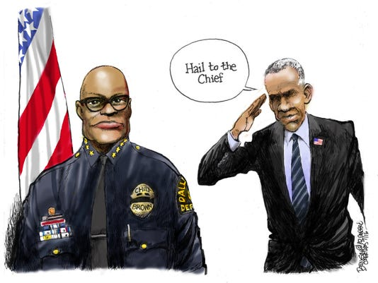 Obama should hail the chief