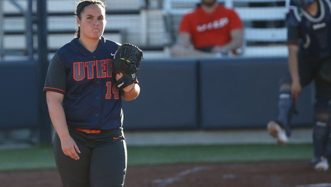 UTEP pitcher Kaitlin Fifield will be key for the Miners as they host Mount St. Mary's in a doubleheader Wednesday at the Helen of Troy Softball Field.