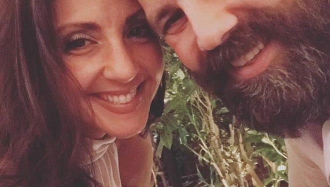 Jennifer DiBiase and David Negron