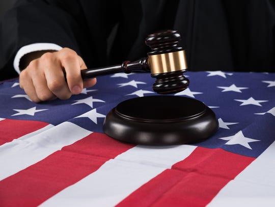 Juez de la Corte Suprema de EEUU.