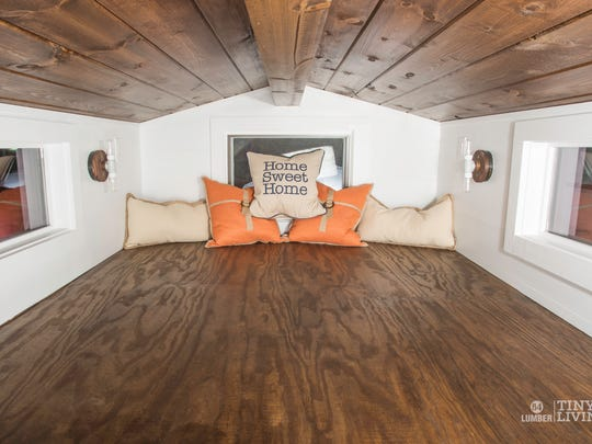 84Lumber, a building materials supplier, is sending its tiny homes on a tour of the country.