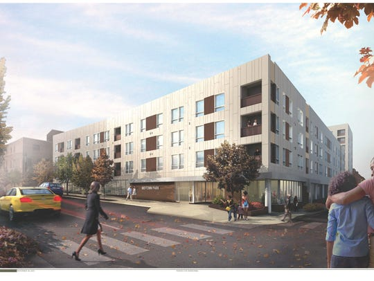 This illustration depicts the future Residences at