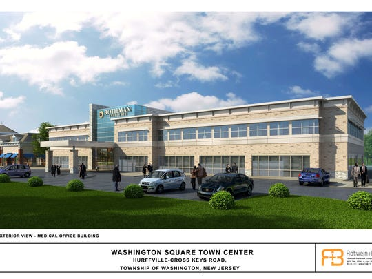 Rothman Institute will anchor the medical facility, operating in 20,000 square feet of space in the building.