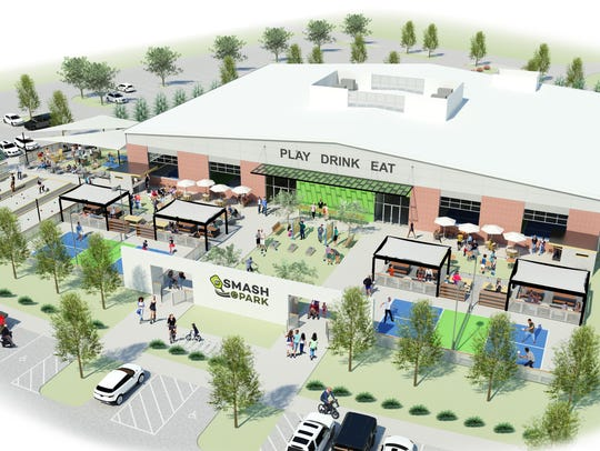 Smash Park, a combination restaurant and entertainment center, will open in West Des Moines next summer.
