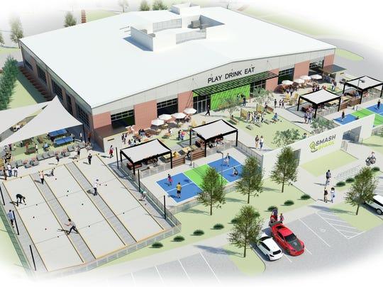 Smash Park, 6600 Coachlight Drive in West Des Moines,