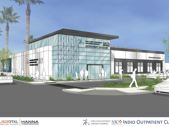 A rendering of the planned center.