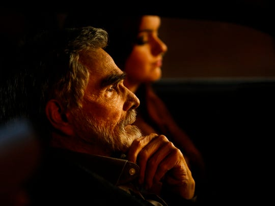 Burt Reynolds hits the road after a bad film-festival
