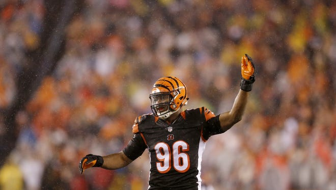Cincinnati Bengals defensive end Carlos Dunlap was named to the Pro Bowl on Thursday.