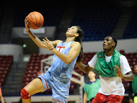 Lady Techster Basketball Practice 10-7-2015